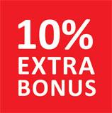 10% Extra-Bonus